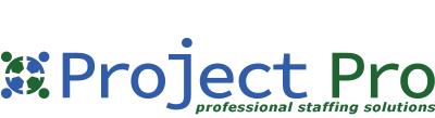 לוגו ProjectPro professional staffing solutions