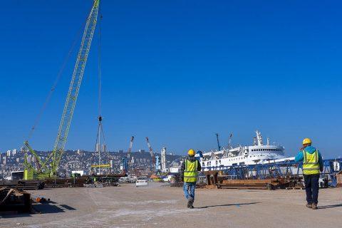 פרוייקט נמל המפרץ בחיפה